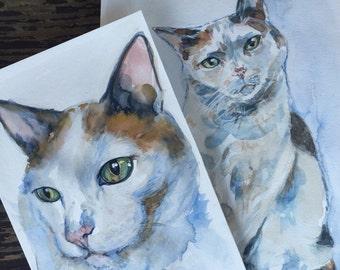 Custom made pet portrait