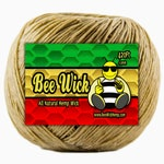 Organic Hemp Wick Handmade in USA with American Beeswax