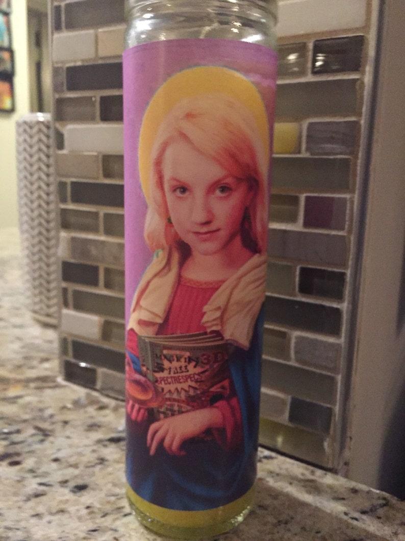 Luna Lovegood Funny Prayer Candle joke prayer candle image 0