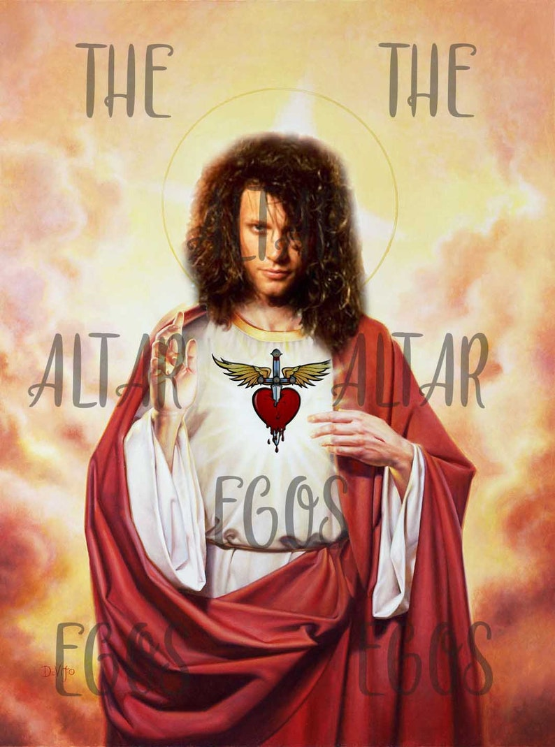 Bon Jovi prayer candle Music prayer candle funny prayer image 0