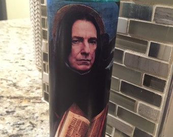 Severus Snape Funny Prayer Candle, Half Blood Prince joke prayer candle, Alan Rickman Candle