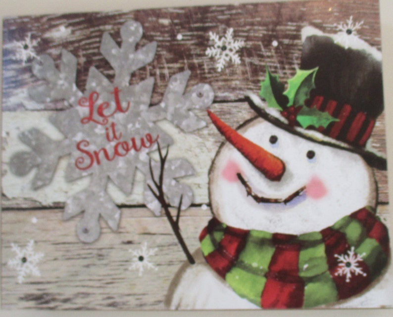 d56f47234b660 Light Up Snowman Sign Painted Wood Sign Snowman With Black Top