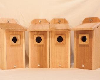 4 Bluebird Houses Bird House