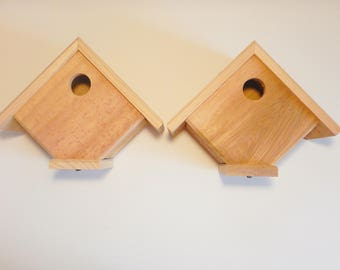 2 Cedar Wren Houses
