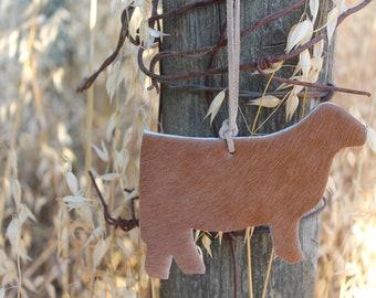 Red Angus Heifer Ornament