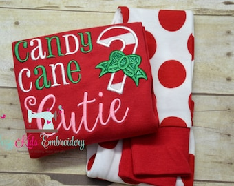 Christmas pajamas boy girl kid child baby toddler infant embroidery applique custom monogram name personalized santa train