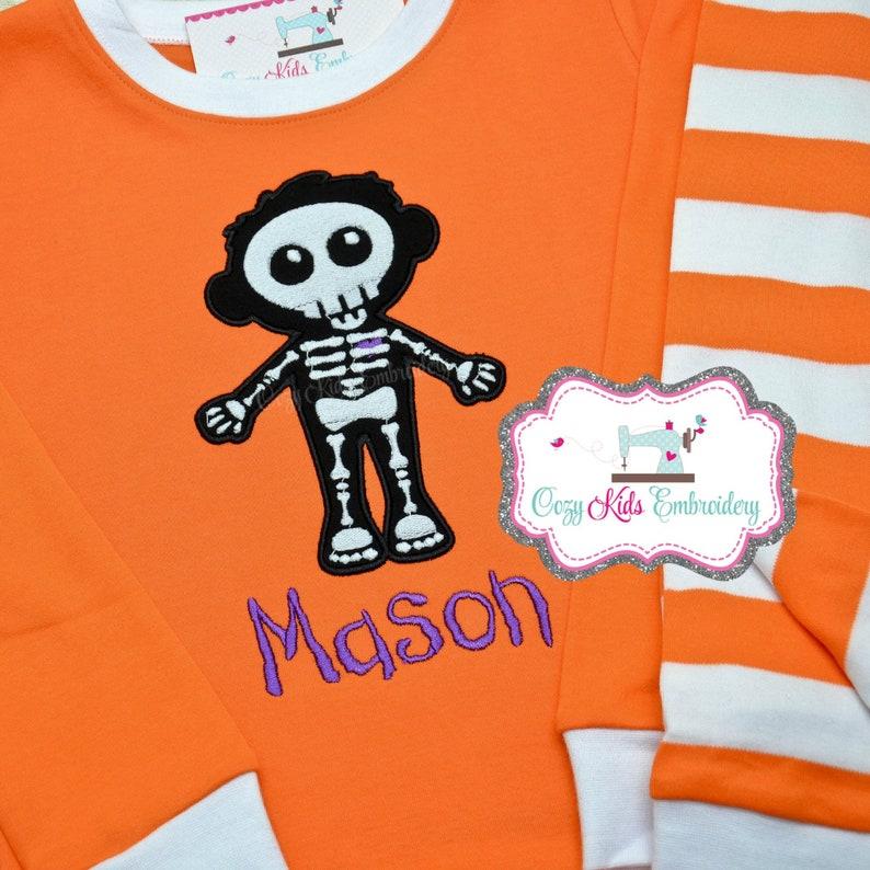 9244be7fff7b Halloween pajama Halloween pj Glow in the Dark Pajama fall