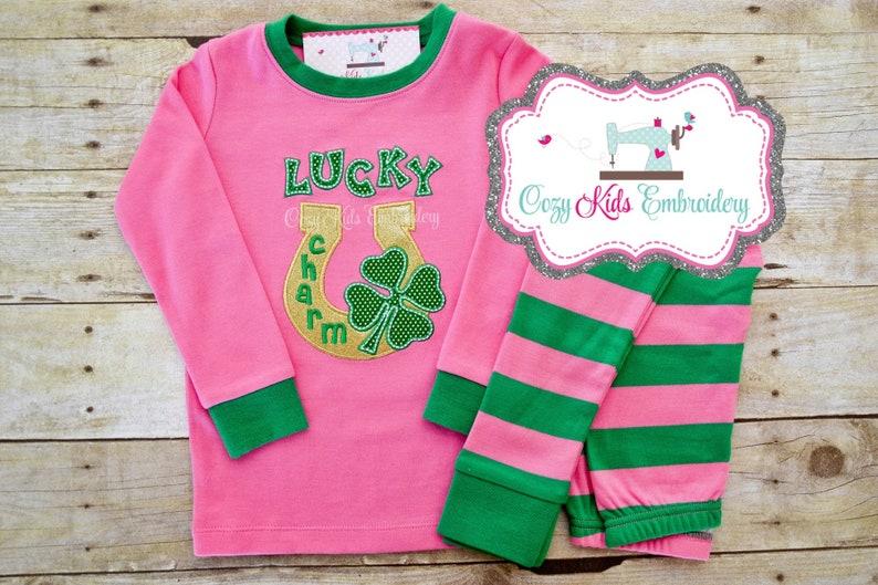 e9a917df2f280 Pyjama de jour de Saint-Patrick St Patricks day PJs saint