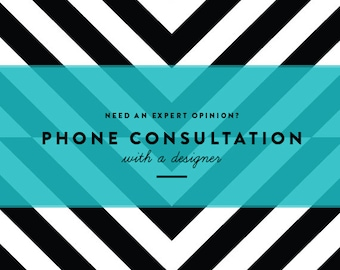 Interior Design Service--Phone Consultation with a Professional_FaceTime or Skype