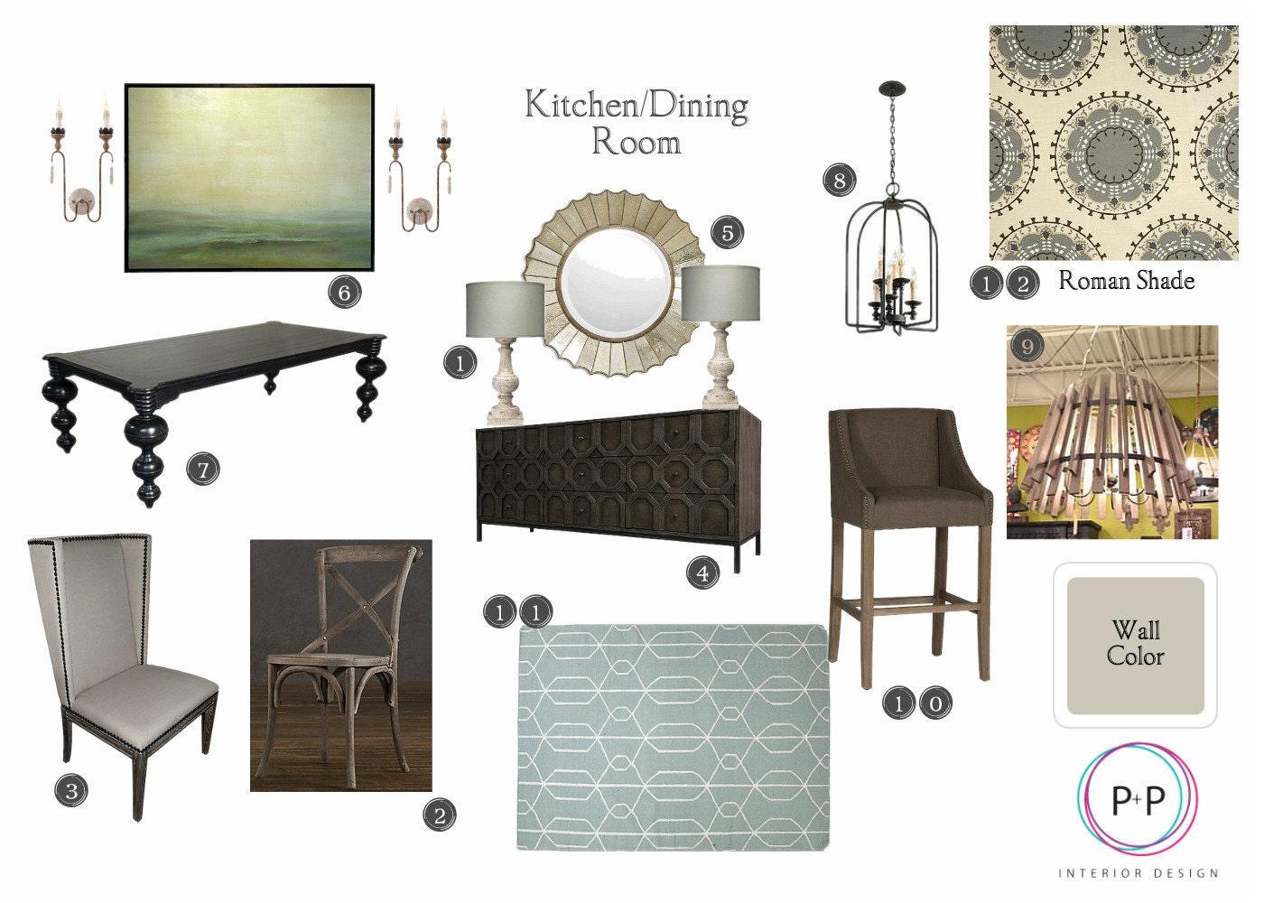 Interior design service customized affordable virtual etsy - Affordable interior design services ...