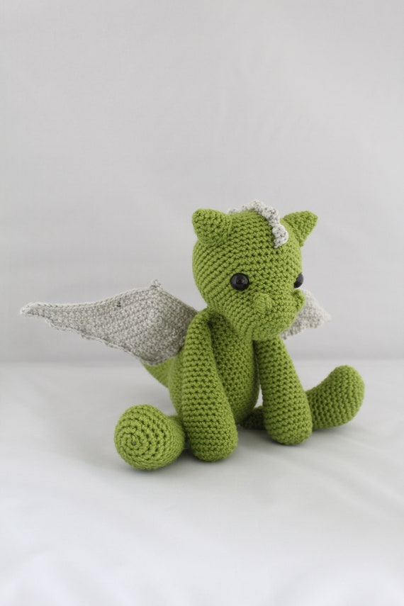 PATTERN: Galahad the Dragon Crochet Amigurumi Pattern | Etsy