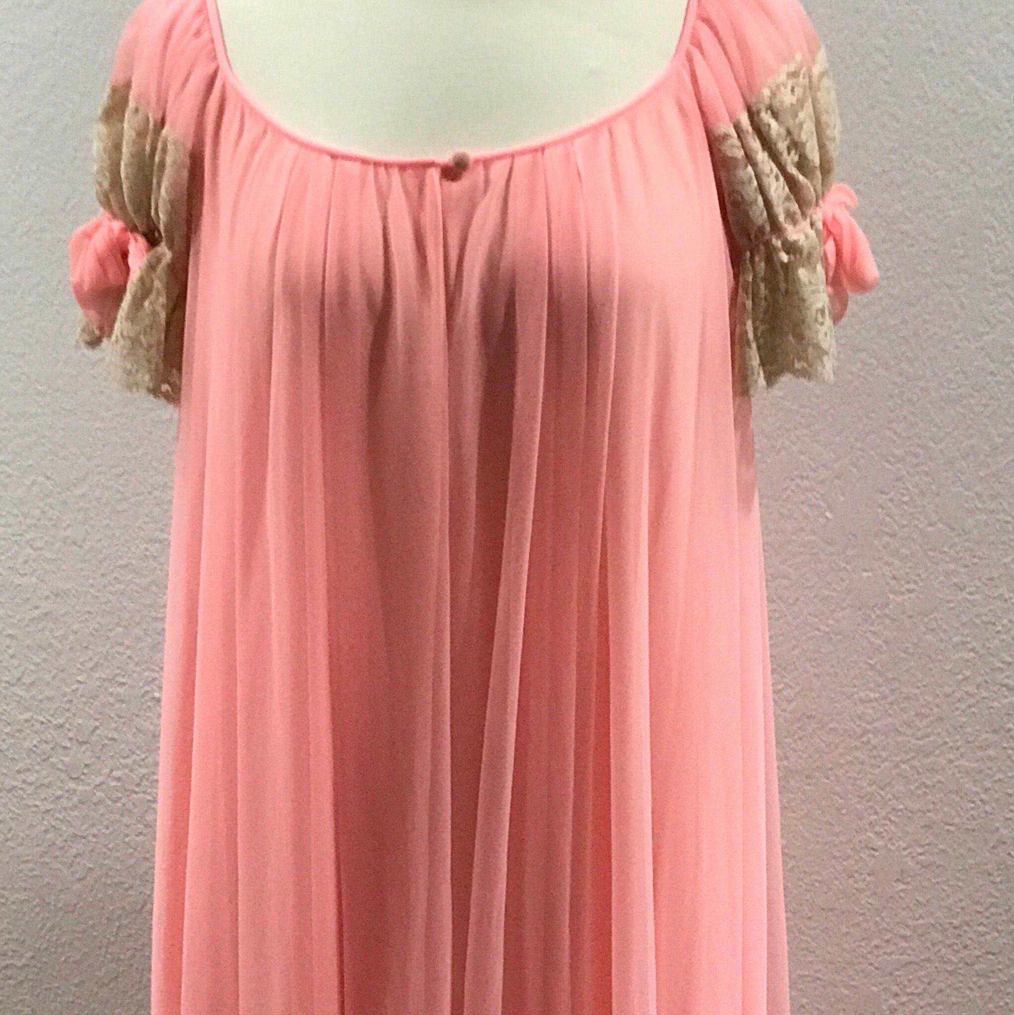 Lucie Ann Robe Pink Chiffon by Claire Sandra 485110b93