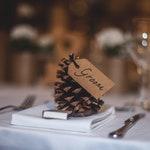 Wedding name places, Kraft tags, wedding stationery, wedding table, wedding decoration, wedding table decoration