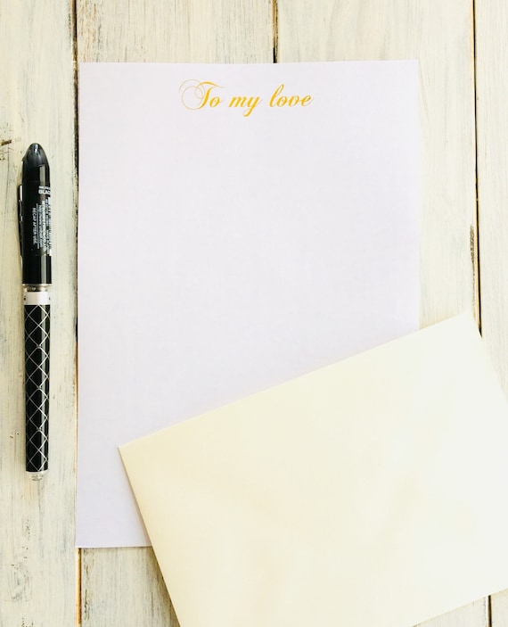 Love Letter Writing Paper from i.etsystatic.com