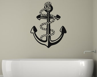 Anchor Wall Decal Etsy