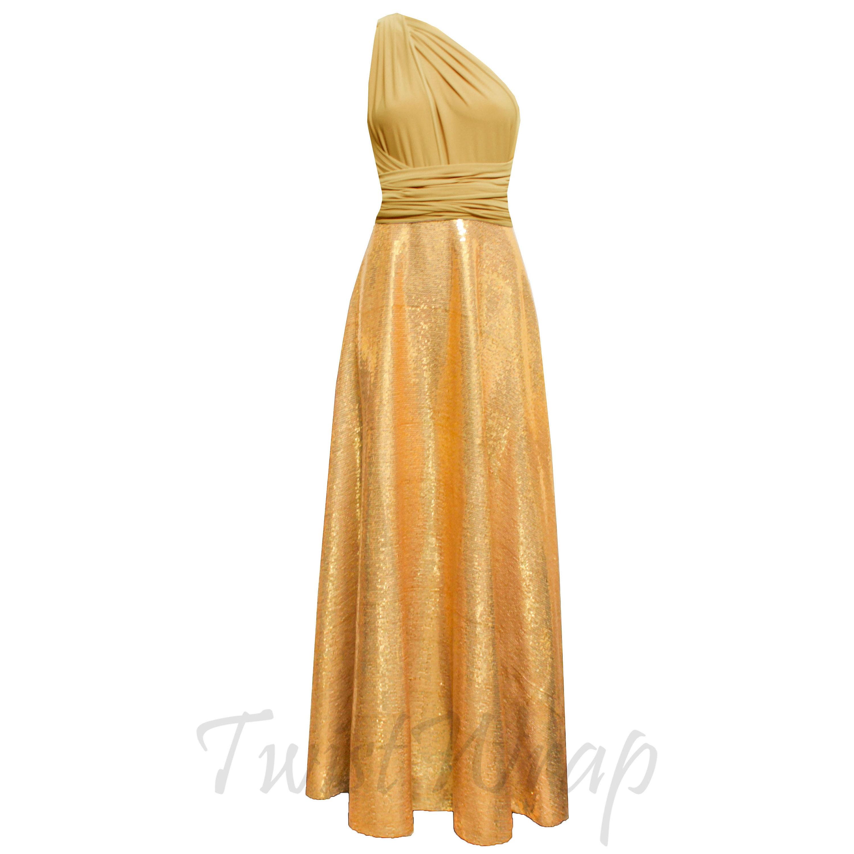 d83564f37f1 Gold Sequin Long Dress Plus Size - Gomes Weine AG