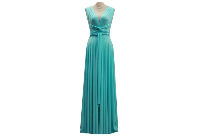 998995612a393 Convertible Dress Bridesmaid Dress Robin Egg Infinity Dress | Etsy