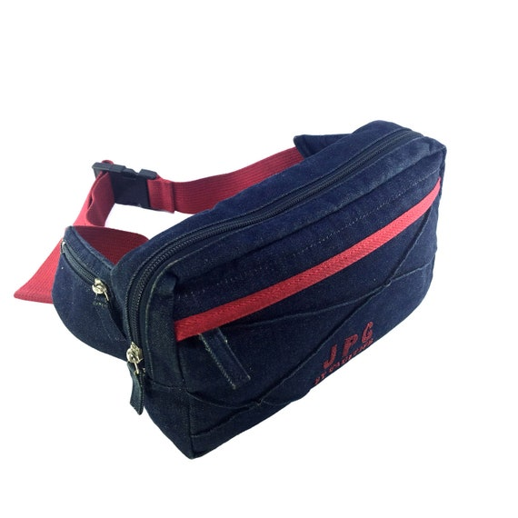 JPG by GAULTIER Vintage Navy Denim Waist Bag Fanny