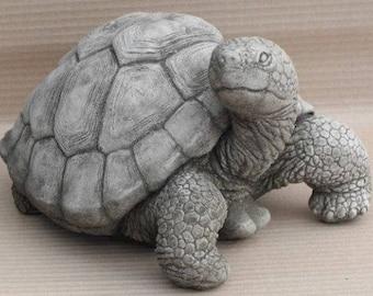 Huge Stone Tortoise Garden Ornament Statue
