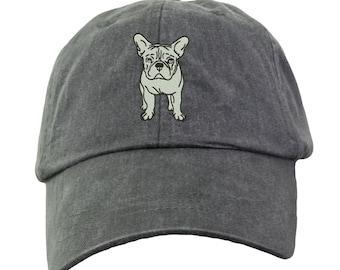 a450ebcf8af French Bulldog Baseball Hat - Embroidered. French Bulldog Mom Baseball Hat. French  Bulldog Dad Baseball Hat. French Bulldog Gifts. LP101