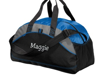 b849984bff88 Personalized Duffel Bag - Embroidered. Custom Duffle Bag. Personalized Gym  Bag. Custom Name Gym Workout Bag. Your Name Bag. SM-BG1070