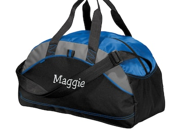 aaa2ddba92f9 Personalized Duffel Bag - Embroidered. Custom Duffle Bag. Personalized Gym  Bag. Custom Name Gym Workout Bag. Your Name Bag. SM-BG1070