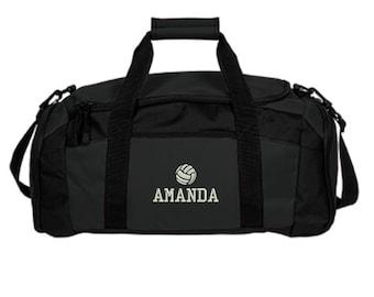 Personalized Volleyball Player Duffle Bag - Embroidered. Volleyball Player Gym  Bag. Customized Volleyball Duffle Gym Bag. SM-BG970 7807c37fe2