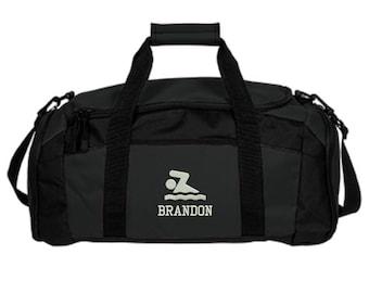 bc2785cfac Personalized Swimming Swim Team Duffel Gym Bag - Embroidered. Swim Team  Duffel Gym Bag. Personalized Swim Team Bag. SM-BG970