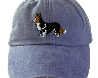 Corgi Cardigan Baseball Hat - Embroidered. Corgi Mom Hat. Corgi Dad Hat.  Corgi Mom Gifts. Corgi Mom Baseball Cap. Corgi Dad. HER-LP101 5b504dd3ed5c