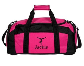 Personalized Gymnastics Duffle Bag - Embroidered. Customized Gymnastics Gym  Bag. Gymnastics Bags. Gymnastics Gifts. Gym 1 - SM-BG970 355af9b54e2bc