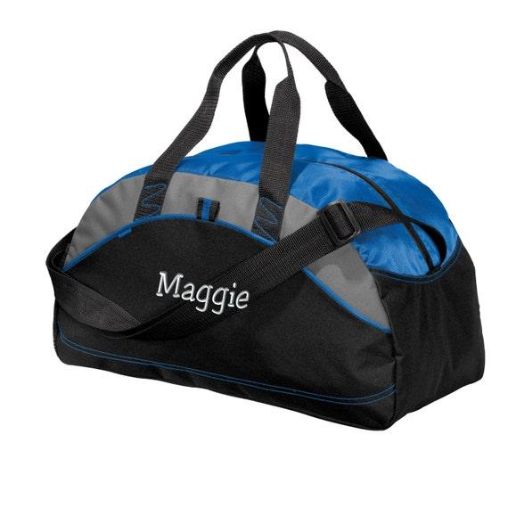 Personalized Duffel Bag Embroidered. Custom Duffle Bag.   Etsy b117e156bd