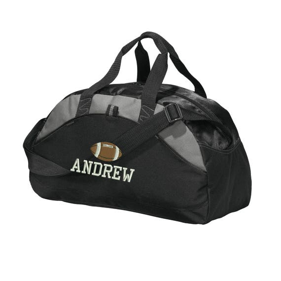 Personalized Football Player Duffel Bag Embroidered. Custom  35544a6524674