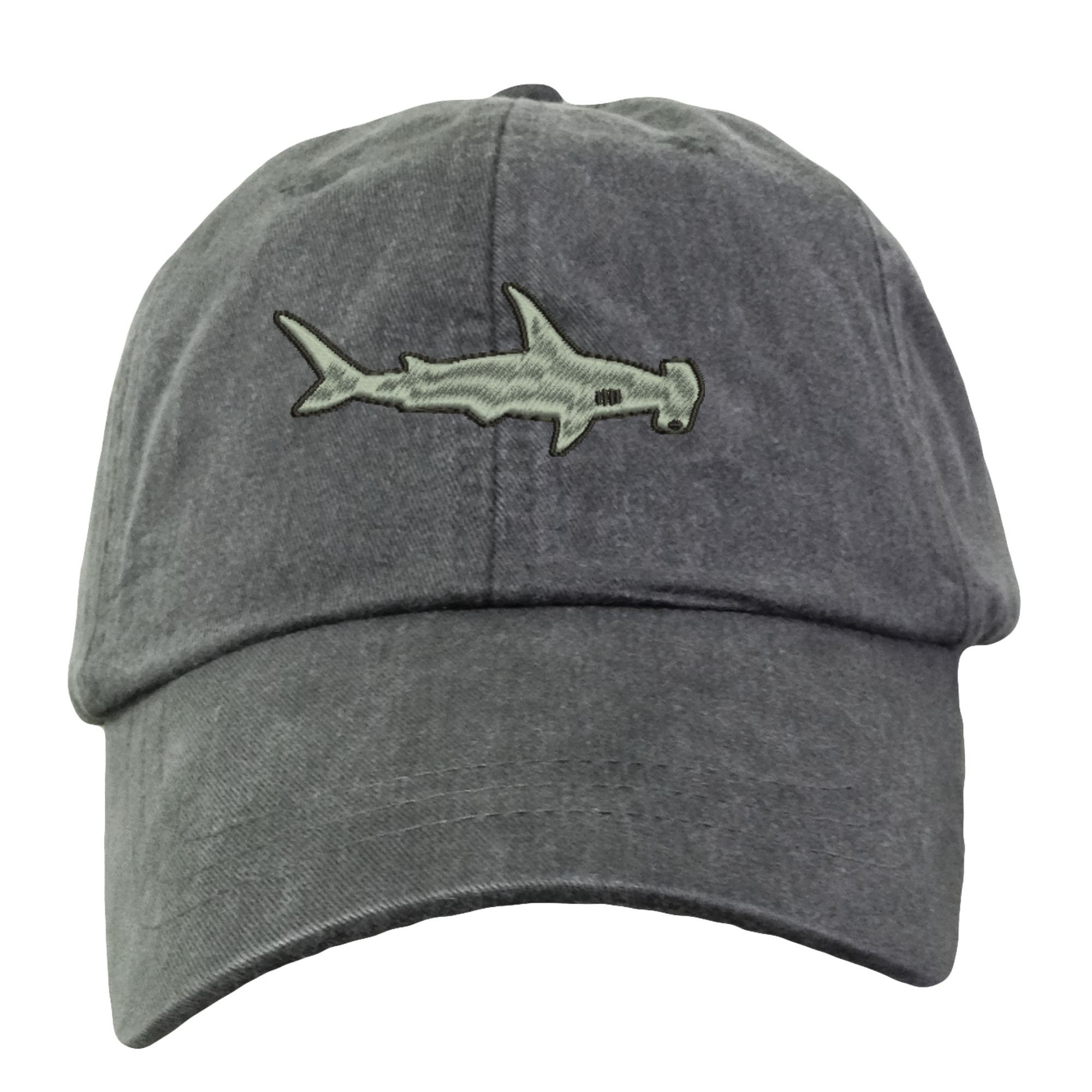 Hammerhead Shark Baseball Hat Embroidered. Hammerhead Hat.  697317c75cd