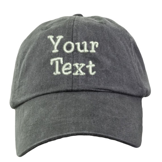 Goodaily Funny Monogram Ca Initials Trucker Hat Baseball Mesh Caps Black