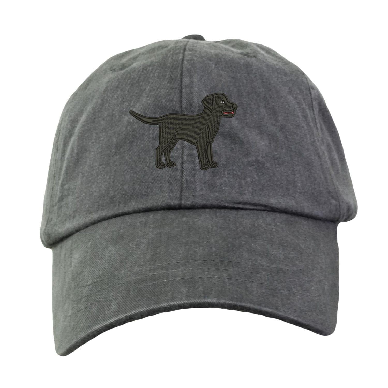 Black Labrador Retriever Baseball Hat Embroidered. Lab Mom  b941358f03d