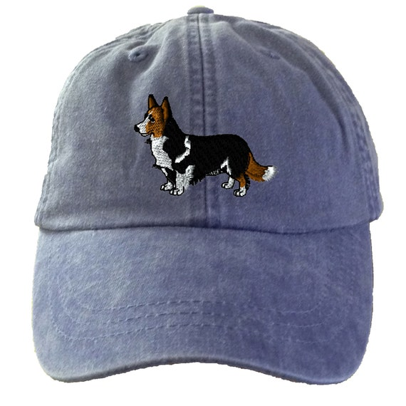 Corgi Cardigan Baseball Hat Embroidered. Corgi Mom Hat.  397c42fe998