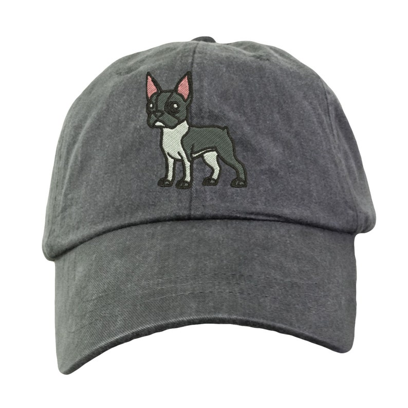 4c8e2811cd8 Boston Terrier Baseball Hat - Embroidered. Boston Terrier Mom Hat. Boston  Terrier Dad Hat. Boston Terrier Cap. Boston Terrier Gifts. LP101