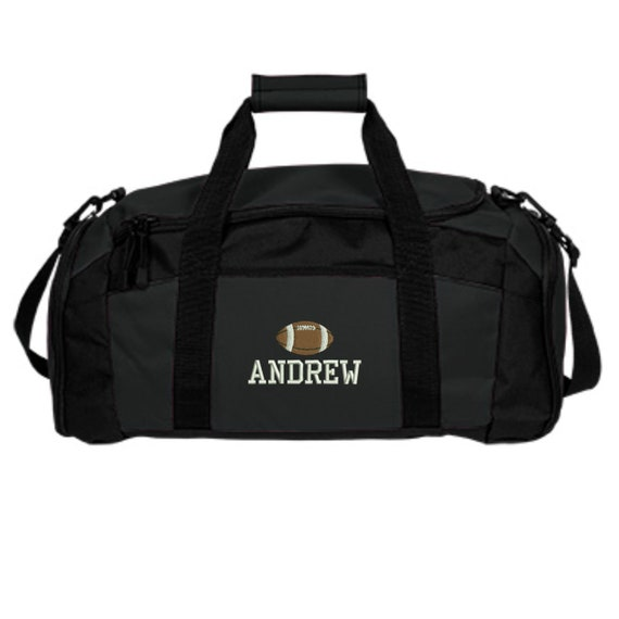 Personalized Wrestling Team Duffel Gym Bag Navy Embroidered