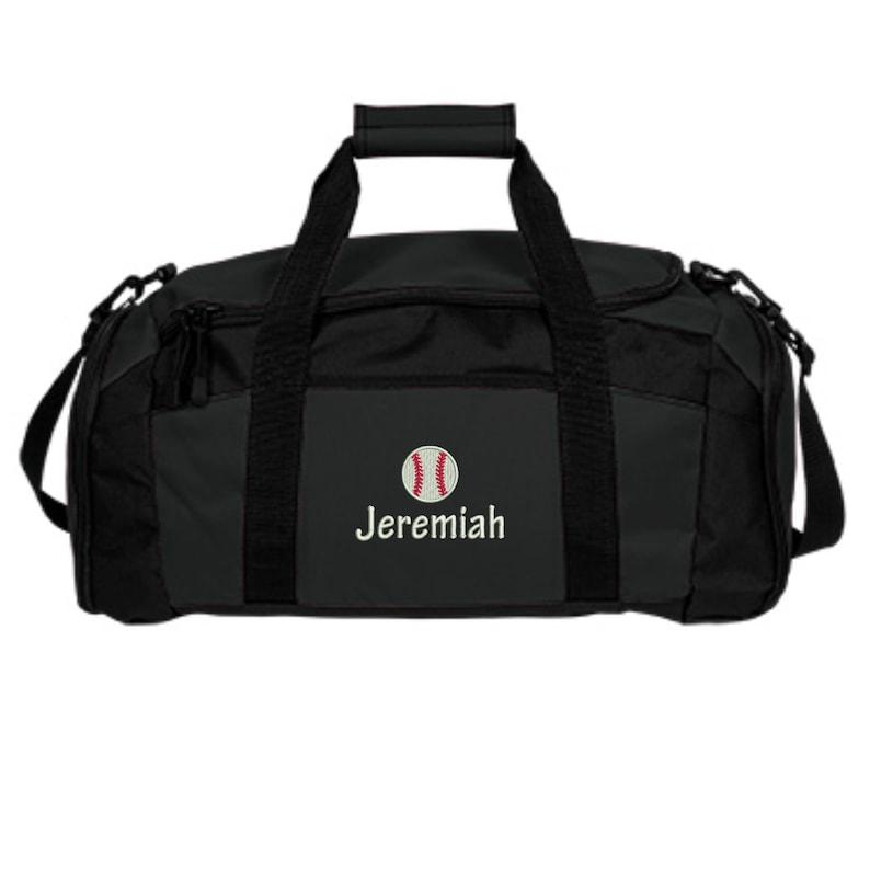 93aa1ea4ff72 Personalized Baseball Duffle Bag. Customized Baseball Gym Bag. Baseball  Team Bags. Baseball Player Gift. Boys Baseball Bag. SM-BG970