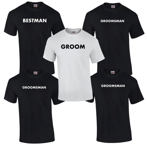 5 Bachelor Party T-Shirts. Bachelor Party Tees. Groomsmen Shirts. Groom Shirt. Best Man Shirt. Bachelor Party Gifts. B002 qYMI4Gz