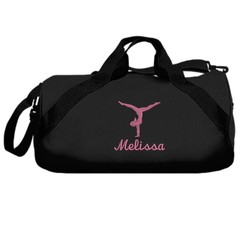 835839ec8f40 Personalized Gymnastics Duffle Bag Embroidered. Gymnastics