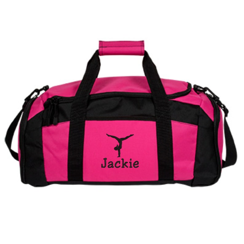 Personalized Gymnastics Duffle Bag Embroidered. Customized  6af51d7d7ec90