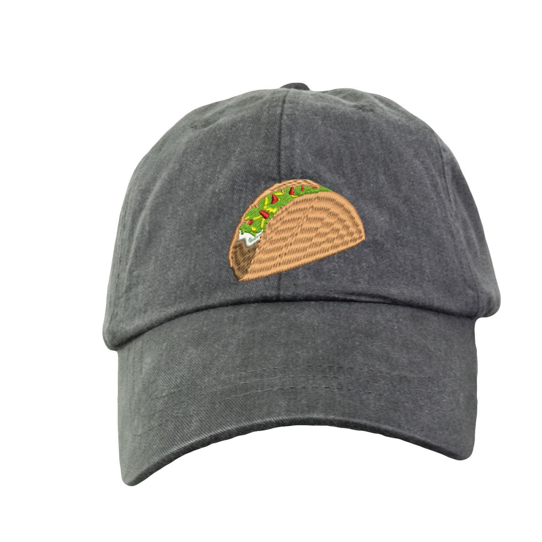 Taco Baseball Hat Cap. Funny Taco Baseball Hat. I love Tacos.  fe6c30c06cc