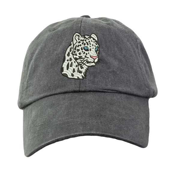 Leopard Hat Embroidered. Leopard Cap. Zoo Animal Hat.  737430bd7781