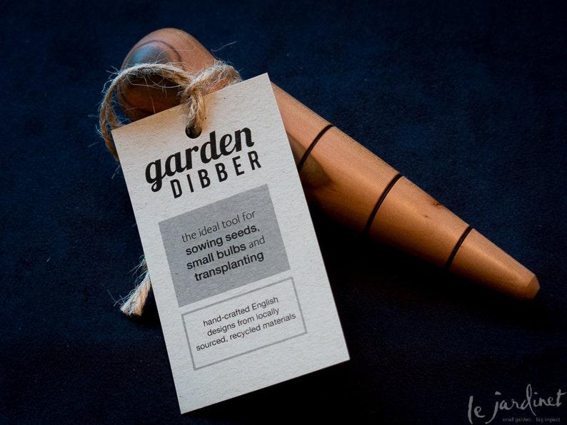 Hand-turned Garden Dibber image 0