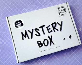 MYSTERY BOX  | Stationery Box | Subscription Box | Surprise Box | Mystery Gift | Notepads | Notebooks | Back To School | Stationery