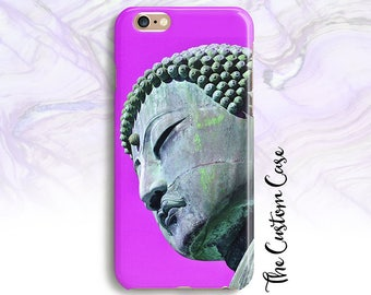 Buddha Iphone Case, Buddah Head Samsung Case, Buddha in 6 Colors, Iphone and Samsung cases, Iphone 8, Iphone 8 plus