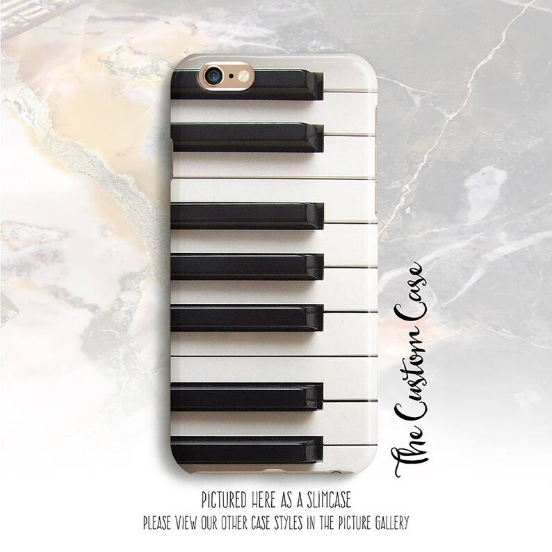 Piano Keys Phone Case, Piano Keyboard Case, Pianist, Musician, Iphone 8  case, Iphone 8 plus case, Iphone X case, Note 8 case