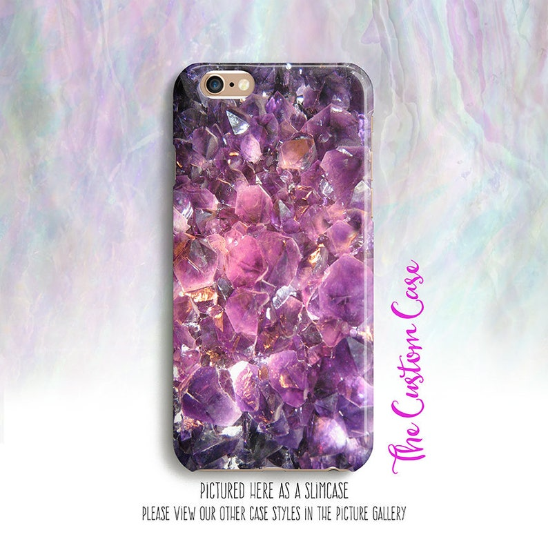 amethyst crystal phone case february birthstone phone case etsyIphone 6 Case Cover Create Iphone 6 Case Apple Iphone 6 S Design A Cell Phone Case Fashion #11