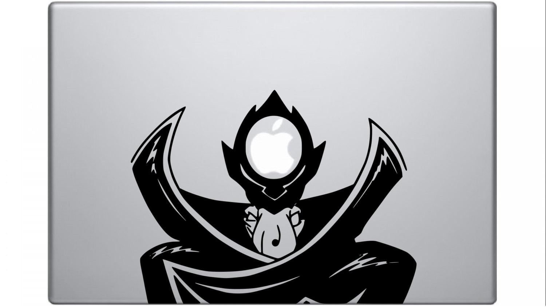 Code Geass Zero Vinyl Decal For Laptop Etsy